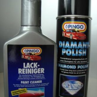 Pingo Polish set matt car paint