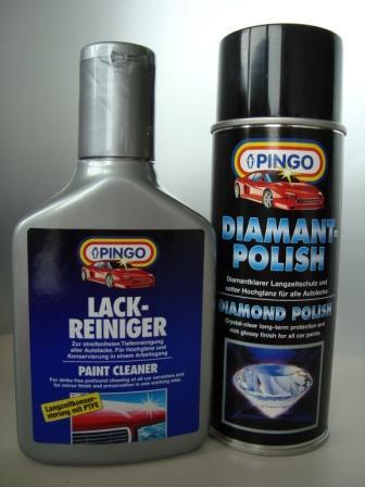 Pingo Polish set matt car paint