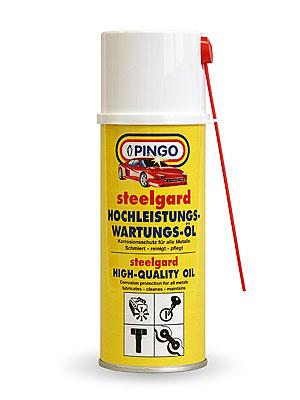 Pingo Steelgard high quality oil 400 ml