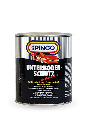Pingo undersealing compound brush on 1 kg