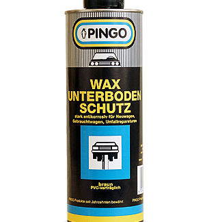 Pingo Underseal protection wax brown
