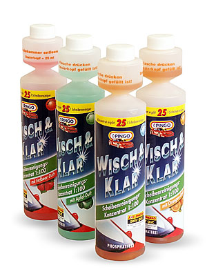 Pingo Wipe and clear 250 ml